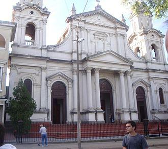 Cathedral of Salto - Image: Catedral de Salto, Uruguay