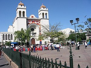 1811 Independence Movement - The rebels assembled in this town square by the then St. Dominic Church.