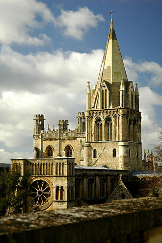 Robert Hues - Christ Church Cathedral, Oxford, the burial place of Robert Hues