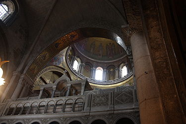 Catholicon dome, Holy Sepulchre 2010.jpg