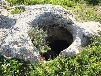 Sokho - Ancient cistern at Tel Socho