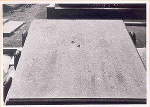 Ignace Brice - Tomb of Ignace Brice (1795-1866), at the cimetière de Laeken (Bruxelles) (Section P.6.)