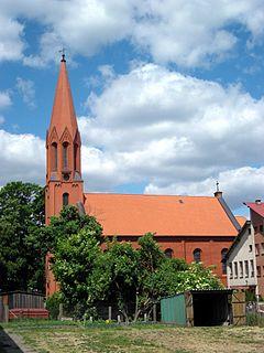 Cekcyn Village in Kuyavian-Pomeranian Voivodeship, Poland