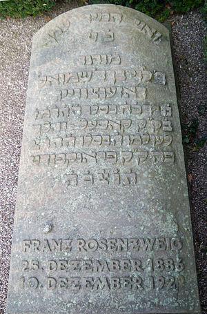 Franz Rosenzweig - Grave of Rosenzweig