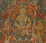 Center detail, Amitayus, the Buddha of Eternal Life ca 1625 LACMA (cropped).jpg