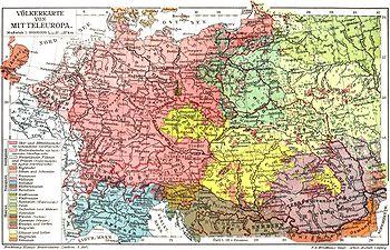 Geografska Karta Srednje Europe Karta