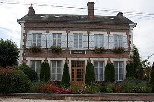 Cerdon, Loiret - The town hall in Cerdon