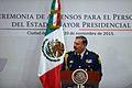 Ceremonia de Ascensos al Estado Mayor Presidencial (23140040756).jpg