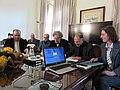 Cerimónia de assinatura do memorando de entendimento entre Wikimedia Portugal, UAb, CIDH, LE@D e CLEPUL - IMG 8012.jpg