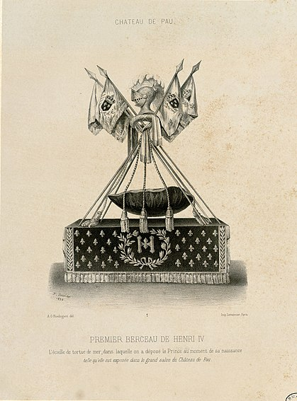 File:Château de Pau - Premier berceau de Henri IV - Fonds Ancely - B315556101 A HOUBIGANT 010.jpg