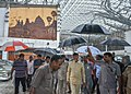 Chandrababu Naidu at rescue operations of Visakhapatnam airport the time of hudhud cyclone.jpg