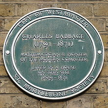 charles babbage contribution in computer