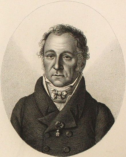 "Charles Lambrechts (1753-1825), professor of canon law (1777), rector of the University of Louvain in 1786 and freemason member of the lodge ""the true and perfect Harmony"" in Mons and Minister of Justice of the French Republic from 3 vendemiaire year VI to 2 thermidor year VII. Charles Joseph Mathieu Lambrechts.jpg"