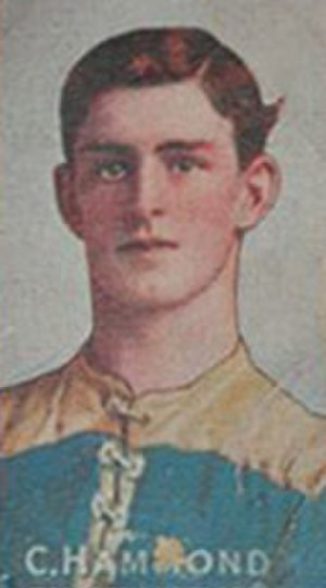 1908 VFL season - Carlton premiership player Charlie Hammond