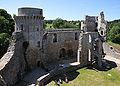 Chateau de la Hunaudaye Interior NW.jpg