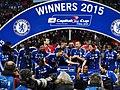 Chelsea 2 Spurs 0 - Capital One Cup winners 2015 (16074051303).jpg