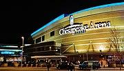 Chesapeake energy arena night