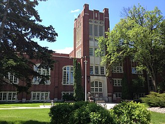 Chester Fritz Library - The Chester Fritz Library at the University of North Dakota
