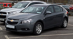 Chevrolet Cruze przed liftingiem