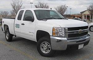 GMT900 - Image: Chevrolet Silverado 2500