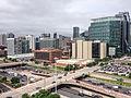 Chicago Skyline and I-90 (17198229167).jpg