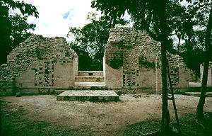 Chicanná - Structure X