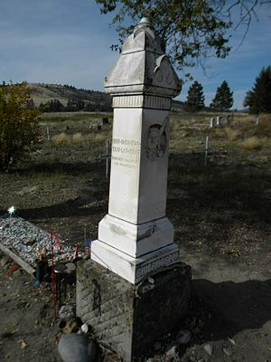 National Register of Historic Places listings in Okanogan County, Washington - Image: Chief Joseph Memorial