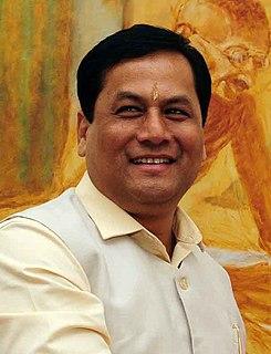 Sarbananda Sonowal Indian politician