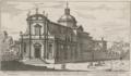 Chiesa dedicata a S. Nicolò da Tolentino tra il Quirinale et Porta Salaria by Giovanni Battista Falda (1667-1669).png