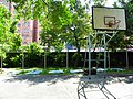 Chin-up bars and Basketball Goal in Military Police School Guishan Campus 20120908.jpg