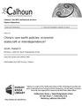 China's rare earth policies- economic statecraft or interdependence? (IA chinasrareearthp1094527906).pdf