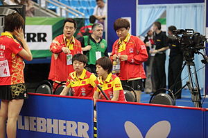 2010 World Team Table Tennis Championships - The China national women's team in Moscow (2010)