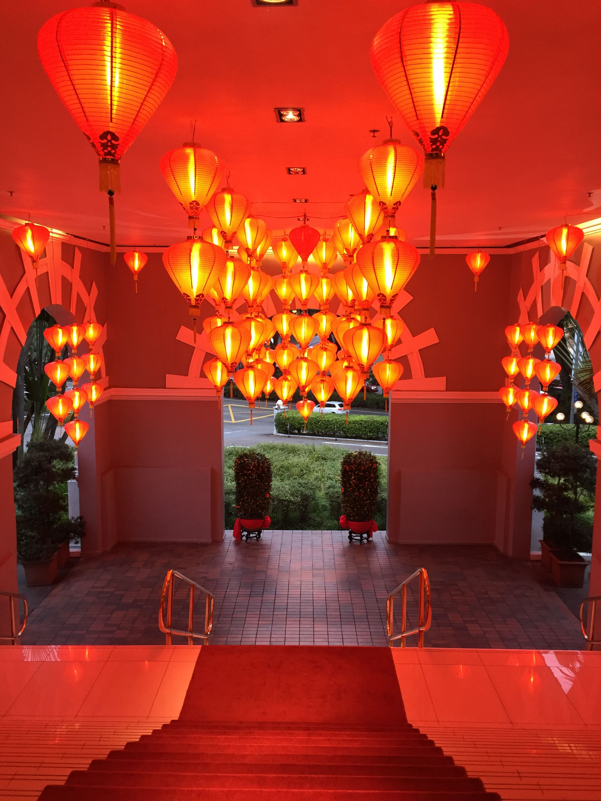 File:Chinese New Year decorations, Goodwood Park Hotel ...
