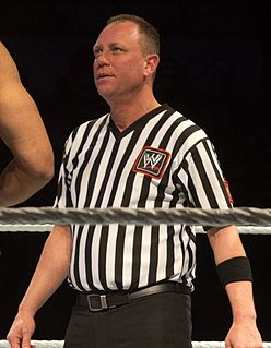 referee for professional wrestling