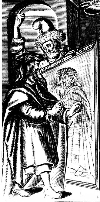 Art of representation - Image: Chironomia frontispiece 1644 detail