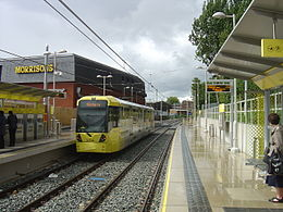 Chorlton Metrolink station - 2011-07-16.jpg