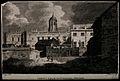 Christ Church, Oxford. Line engraving by G. Barrett after E. Wellcome V0014080.jpg