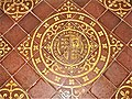 Christ Church, Welshpool. Royal Coat of Arms.JPG