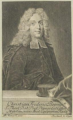 Christian Friedrich Börner by Rosbach