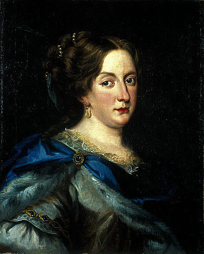Cristina de Suecia.