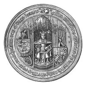 Christopher of Bavaria - Image: Christopher of Bavaria seal