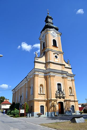 Chtelnica - Church in Chtelnica