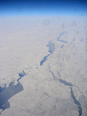 Chukchi Sea - Spring breakup of sea ice on the Chukchi Sea.