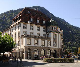 Graubündner Kantonalbank - Headquarters in Chur