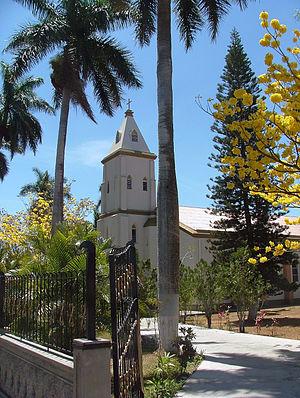Atenas (canton) - Image: Church Atenas Costa Rica