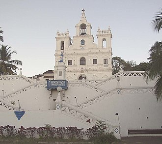 Our Lady of the Immaculate Conception Church, Goa - Image: Church Panjim