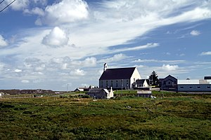 Carloway - Image: Church in Carloway in summer 2012 (1)