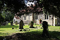 Church of St Andrew, Willingale, Essex, England - exterior chancel and nave from southeast.JPG