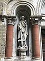 Church of St Joseph, Highgate exterior statue of St Peter.jpg