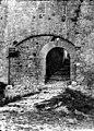 Cité ; Porte de Bourg ; Tour des Wisigoths - Porte de Bourg, à droite de la tour des Wisigoths - Carcassonne - Médiathèque de l'architecture et du patrimoine - APMH00007448.jpg